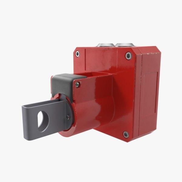 3D alarm key single