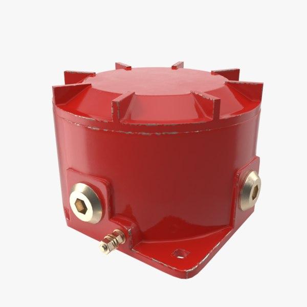 junction box 3D model