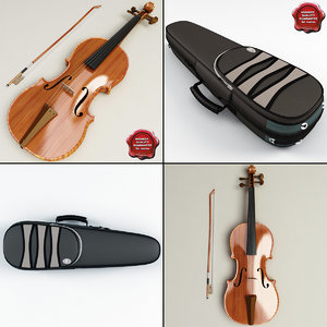 3d violin case