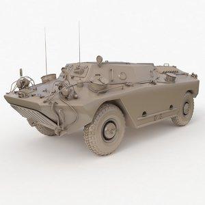 3D fug ot 65 clay