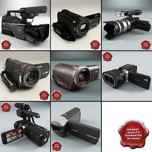 camcorders v3 3d obj