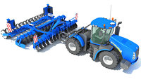 new holland tractor seed 3D
