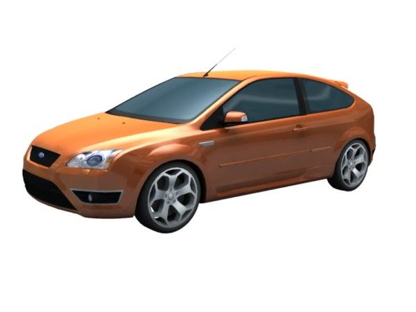 2007 focus st hatchback model