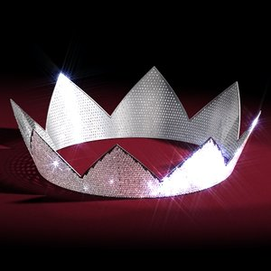 3d diamonds crown
