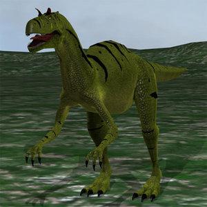 maya allosaurus ground sky