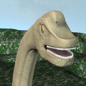 brachiosaurus obj