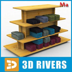 3d display table clothes v1