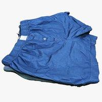 3D boxer shorts model