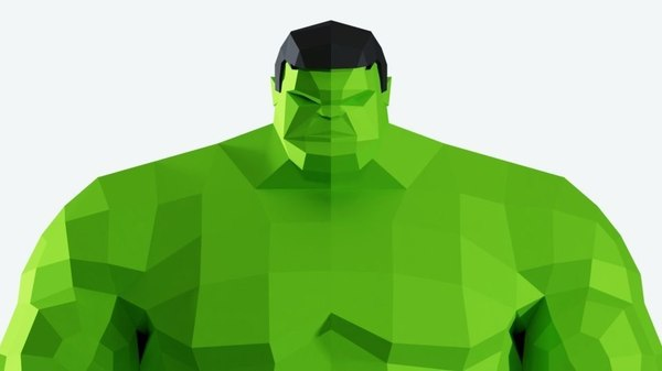 green character 3D