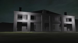 free house texas chainsaw 3d model