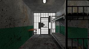prison room 3D model
