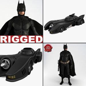 3d batman v2