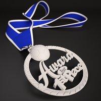 printable soccer medal 1st 3D model