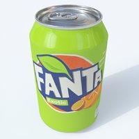 softdrink fanta exotic 3D