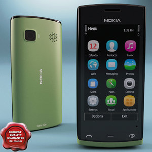 3ds max nokia 500 green