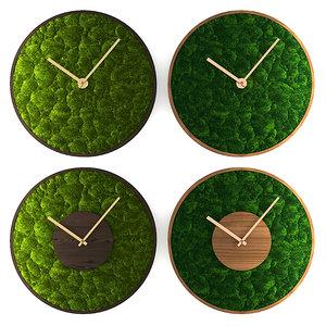 clock mosstime moss model