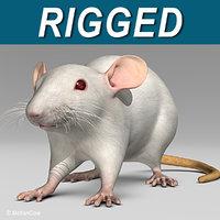 3ds max white rat