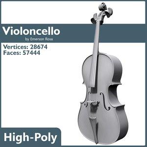 3d model high-poly uvw
