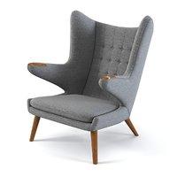max papa bear chair