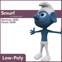 3ds max smurf