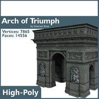 arch triumph arc 3ds