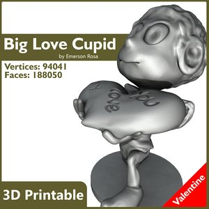 cupid love obj