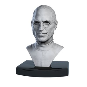 maya decorative bust steve jobs