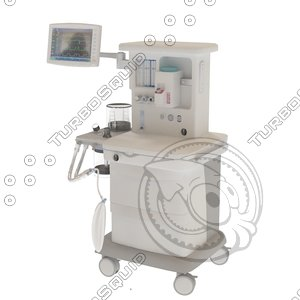 3d model oxygen concentrator ambulance