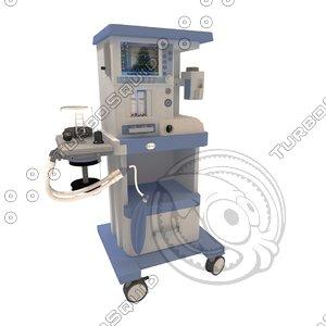 medical oxygen concentrator 3d model