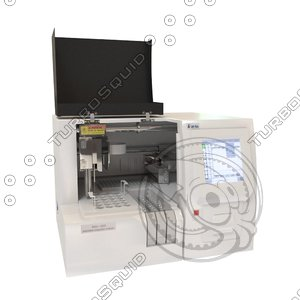 3d model automatic coagulation analyzer rac-050