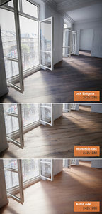 3d model materials flooring wood