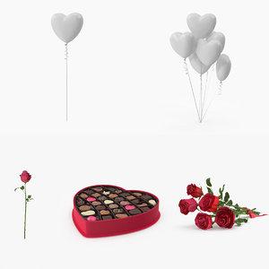 romantic gift 3d max