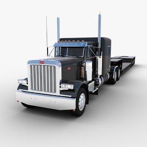 max lowboy truck trailer