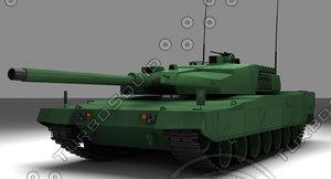 3d vray3 altay tank model