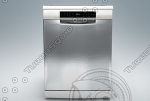 3D bosch dishwasher