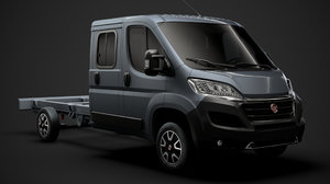 fiat ducato chassis truck 3D