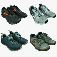 3D shoes pair