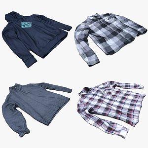 shirt clothing fashion 3D