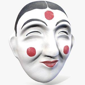 ready korean traditional mask model