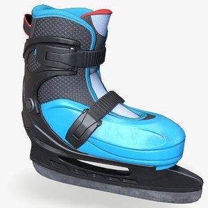 ready ice-skate 3D
