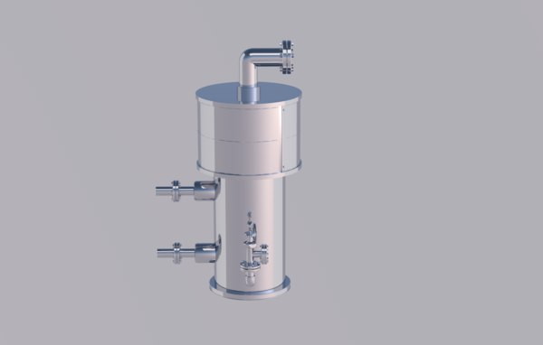ship engine pump industrial 3D model