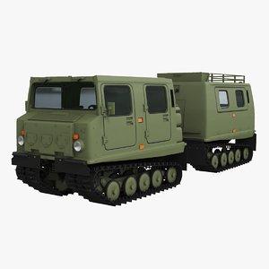 bandvagn bv 206 3D model