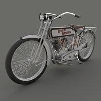 Vintage motorcycle 10e