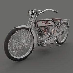 motorcycle 10e 3D model