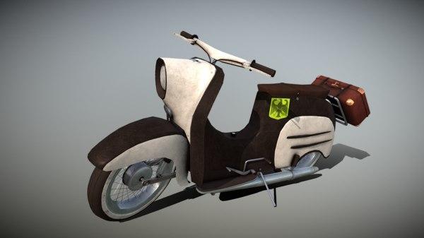 3D scooter kr-51 model