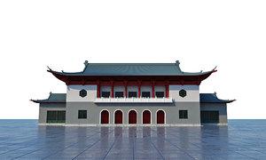 temple japan 3D model