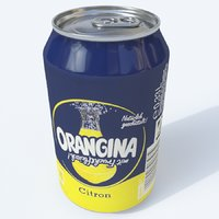 softdrink orangina citrus 3D model