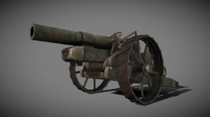3D bl howitzer model