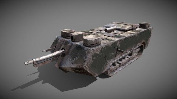 chamond french heavy 3D model