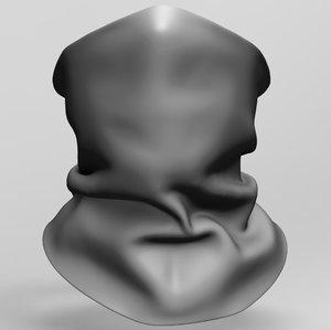 bandana 3D